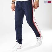 /achat-pantalons-joggings/tommy-hilfiger-jeans-pantalon-jogging-a-bandes-seasonal-6434-bleu-marine-blanc-rouge-173958.html