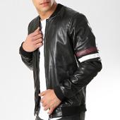 /achat-vestes/classic-series-veste-zippee-avec-bandes-m4005-noir-174238.html