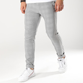 /achat-pantalons-carreaux/classic-series-pantalon-carreaux-m3074-gris-noir-174336.html