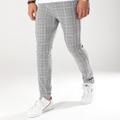 /achat-pantalons-carreaux/classic-series-pantalon-carreaux-m3072-noir-gris-174341.html