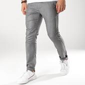 /achat-pantalons-carreaux/classic-series-pantalon-m3077-noir-blanc-174350.html