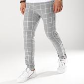 /achat-pantalons-carreaux/classic-series-pantalon-carreaux-m3070-noir-blanc-174351.html