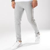 /achat-pantalons-carreaux/classic-series-pantalon-raye-m3068-gris-clair-174366.html
