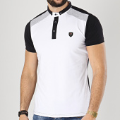 /achat-polos-manches-courtes/classic-series-polo-manches-courtes-8739-blanc-noir-gris-chine-174444.html