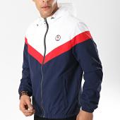 /achat-vestes/deeluxe-veste-zippee-capuche-s19610-bleu-marine-blanc-rouge-174221.html