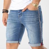 /achat-shorts-jean/deeluxe-short-jean-a-bandes-s19j808-bleu-denim-174228.html