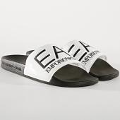 /achat-claquettes-sandales/ea7-claquettes-slipper-visibility-xcp001-xcc22-blanc-noir-174175.html