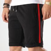 /achat-shorts-jogging/lbo-short-jogging-avec-bandes-noir-rouge-656-noir-174487.html