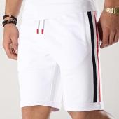/achat-shorts-jogging/lbo-short-jogging-avec-bandes-bleu-blanc-rouge-663-blanc-174488.html