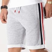 /achat-shorts-jogging/lbo-short-jogging-avec-bandes-bleu-blanc-rouge-664-gris-chine-174490.html