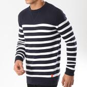 /achat-pulls/mz72-pull-astripe-bleu-marine-blanc-174171.html