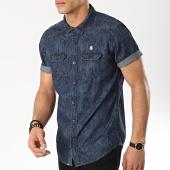 /achat-chemises-manches-courtes/mz72-chemise-manches-courtes-clyde-bleu-marine-floral-174218.html