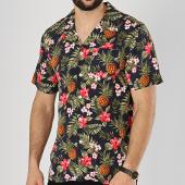 /achat-chemises-manches-courtes/mz72-chemise-manches-courtes-confirm-bleu-marine-vert-floral-174410.html