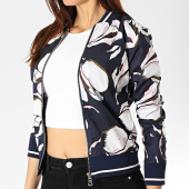 /achat-vestes/project-x-veste-zippee-femme-f193033-bleu-marine-floral-174259.html