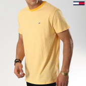 /achat-t-shirts/tommy-hilfiger-jeans-tee-shirt-contrast-6064-jaune-chine-174369.html