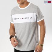 /achat-t-shirts/tommy-hilfiger-tee-shirt-logo-flag-1170-gris-chine-blanc-174427.html