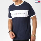 /achat-t-shirts/tommy-hilfiger-tee-shirt-logo-flag-1170-bleu-marine-blanc-174431.html