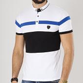 /achat-polos-manches-courtes/classic-series-polo-manches-courtes-8742-noir-blanc-bleu-roi-174493.html