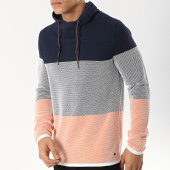 /achat-pulls/edc-by-esprit-pull-amplified-039cc2i002-orange-bleu-marine-blanc-174742.html