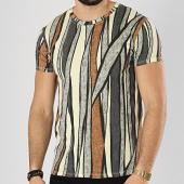 /achat-t-shirts/frilivin-tee-shirt-8243-19w3-jaune-gris-camel-174501.html