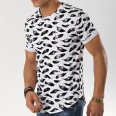 /achat-t-shirts-longs-oversize/frilivin-tee-shirt-oversize-7241-fl8-blanc-noir-174506.html