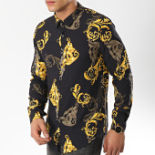 /achat-chemises-manches-longues/frilivin-chemise-manches-longues-68285-noir-jaune-renaissance-174507.html