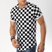 /achat-t-shirts-longs-oversize/frilivin-tee-shirt-oversize-a-carreaux-7241-fl11-noir-blanc-174508.html