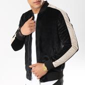 /achat-vestes/frilivin-veste-zippee-a-bandes-qq523-1-noir-ecru-174511.html