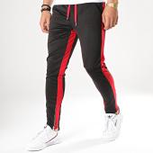 /achat-pantalons-joggings/frilivin-pantalon-jogging-a-bandes-1565-noir-rouge-174512.html
