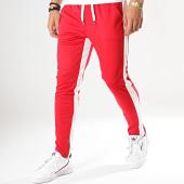/achat-pantalons-joggings/frilivin-pantalon-jogging-a-bandes-1565-rouge-blanc-174513.html