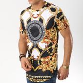 /achat-t-shirts-longs-oversize/frilivin-tee-shirt-oversize-5229-noir-blanc-jaune-renaissance-174520.html