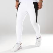 /achat-pantalons-joggings/gianni-kavanagh-pantalon-jogging-contrast-panels-blanc-noir-174765.html