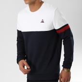 /achat-sweats-col-rond-crewneck/le-coq-sportif-sweat-crewneck-tricolore-n9-bleu-marine-blanc-rouge-174546.html
