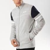 /achat-vestes/mz72-veste-zippee-jakes-gris-chine-blanc-bleu-marine-174659.html