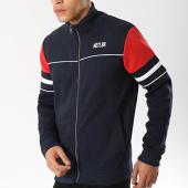 /achat-vestes/mz72-veste-zippee-jakes-bleu-marine-blanc-rouge-174661.html