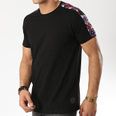 /achat-t-shirts/project-x-tee-shirt-a-bandes-1910020-noir-174560.html
