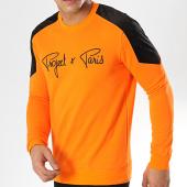 /achat-sweats-col-rond-crewneck/project-x-sweat-crewneck-1920015-orange-noir-174732.html