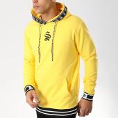 /achat-sweats-capuche/sinners-attire-sweat-capuche-avec-bandes-hypa-jaune-174768.html