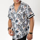 /achat-chemises-manches-courtes/sixth-june-chemise-manches-courtes-m3710vsh-blanc-floral-bleu-marine-174717.html