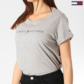 /achat-t-shirts/tommy-hilfiger-jeans-tee-shirt-femme-logo-1618-gris-chine-174682.html