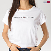 /achat-t-shirts/tommy-hilfiger-jeans-tee-shirt-femme-logo-1618-blanc-174683.html