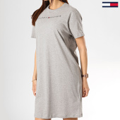 /achat-robes/tommy-hilfiger-jeans-robe-femme-logo-1639-gris-chine-174688.html