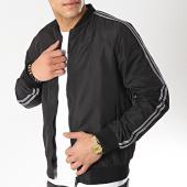 /achat-vestes/brave-soul-veste-zippee-a-bandes-sarrison-noir-gris-174943.html