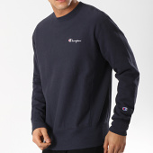 /achat-sweats-col-rond-crewneck/champion-sweat-crewneck-212994-bleu-marine-174994.html