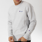/achat-sweats-col-rond-crewneck/champion-sweat-crewneck-212994-gris-chine-174996.html