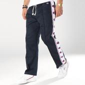 /achat-pantalons-joggings/champion-pantalon-avec-bandes-213074-bleu-marine-blanc-174997.html