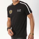 /achat-t-shirts/ea7-tee-shirt-a-bandes-3gpt33-pjl2z-noir-blanc-dore-174876.html