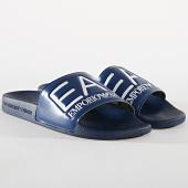 /achat-claquettes-sandales/ea7-claquettes-slipper-visibility-xcp001-xcc22-bleu-marine-174879.html