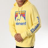 /achat-sweats-capuche/element-sweat-capuche-joint-jaune-174927.html