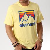 /achat-t-shirts/element-tee-shirt-link-jaune-174942.html